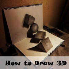 программа для рисования 3d рисунков